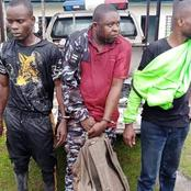 Photos of the Telecommunication Mast Vandalization Specialists Arrested in Akwa Ibom
