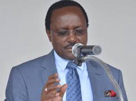 Kalonzo: What Kind Of Party Has Mp Osoro Joined, It Has Radicalized Him To Even Fight In Burials