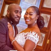 Cute Pictures of Nigerian Broadcaster, Gbemi Olagbegi, And Her Husband
