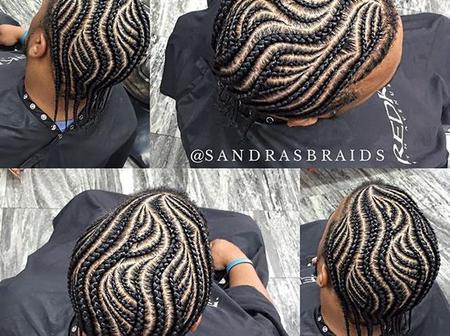 40 Fabulous And Stylish Ghana Weaving Hair Styles