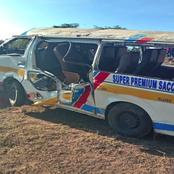 Just in: 10 People Dead After Tragic Accident Involving A Matatu