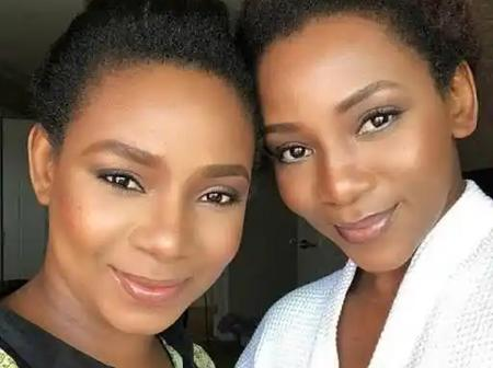 Checkout Pictures Of Genevieve Nnaji With Her Beautiful Daughter