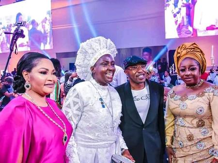 Oluwo Meet Reverend Mother Esther Ajayi, Others At 45 years Birthday Of Elegushi King