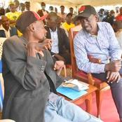 MP Lectures Uhuru  At Ruto's Event In Maila Saba ( Video)