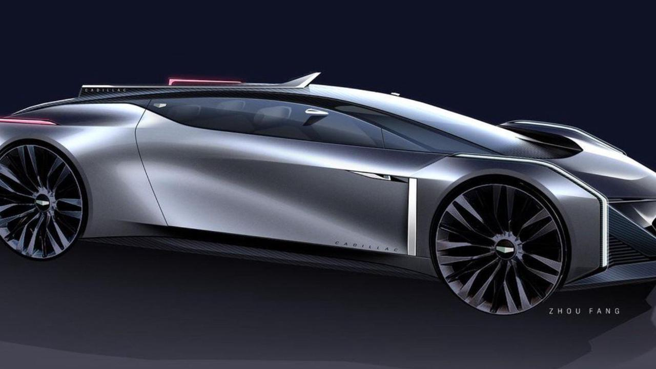 GM Design Imagines a Streamlined Cadillac Coupe We'd Love to Drive in 2030
