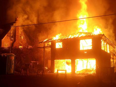 Woman set co wife's house a blaze in Nyeri