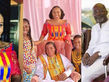 Some Throwback Photos of Adjoa Safo and Kennedy Agyapong's children