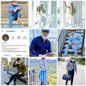 Fashion: Meet Irvin Randle A 59yrs Old Popular American Fashion Model With Amazing Fashion Sense