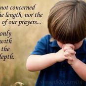 No fear morning prayer