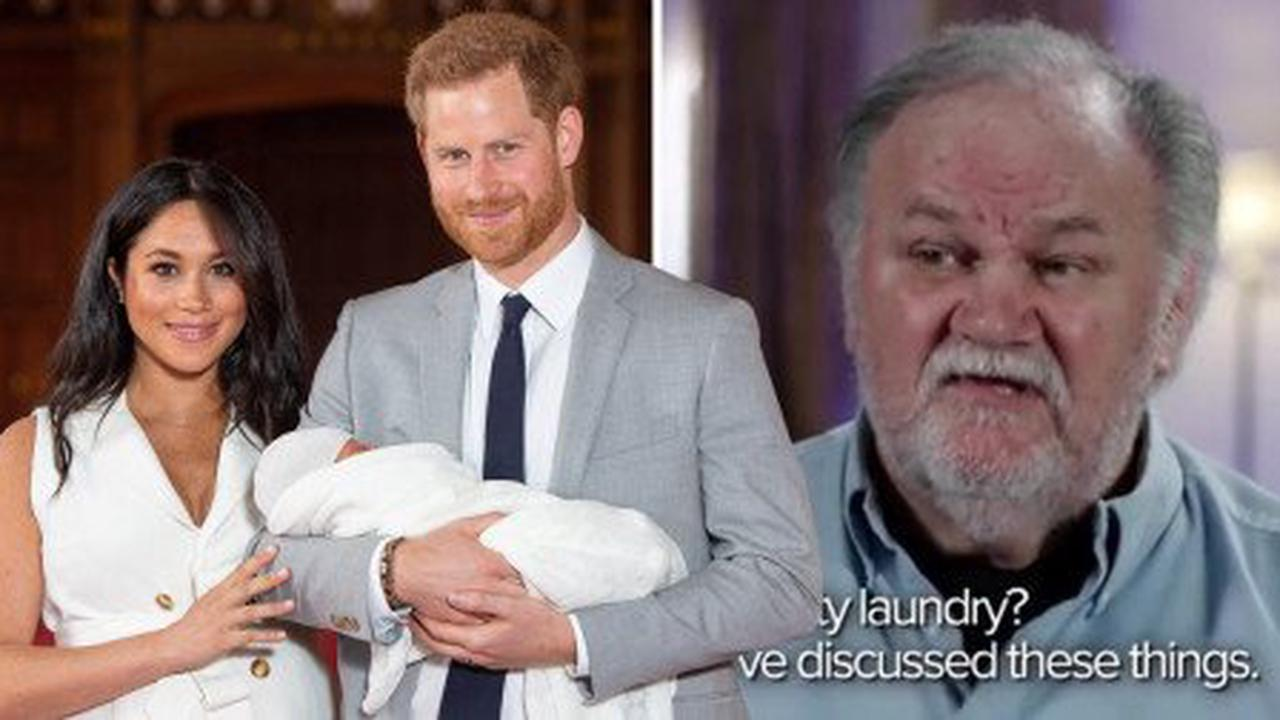 Meghan's estranged dad threatens to air 'dirty laundry' and begs to meet Lilibet