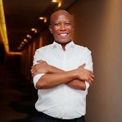 ''I Will be the first one to take COVID-19 vaccine in South Africa'' Julius Malema