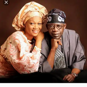 Meet The Beautiful Wife Of Bola Tinubu And His Children