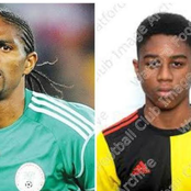 Meet Kanu Nwankwo's Son Who Is Already Going Places At 16. He Currently Plays For Watford