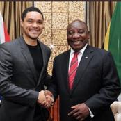 Here is the reason why Trevor Noah doesn't make jokes about Cyril Ramaphosa.