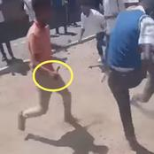 Student Gangsters Draw Knives In Front Of Class Rooms In Viral Video - South Africa