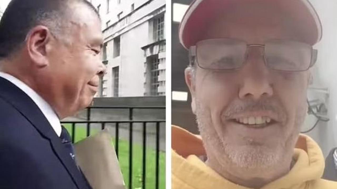 Shocking video of notorious anti-vaxxer yelling abuse at Jonathan Van-Tam