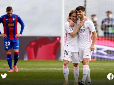 Real leapfrog Barca into second spot