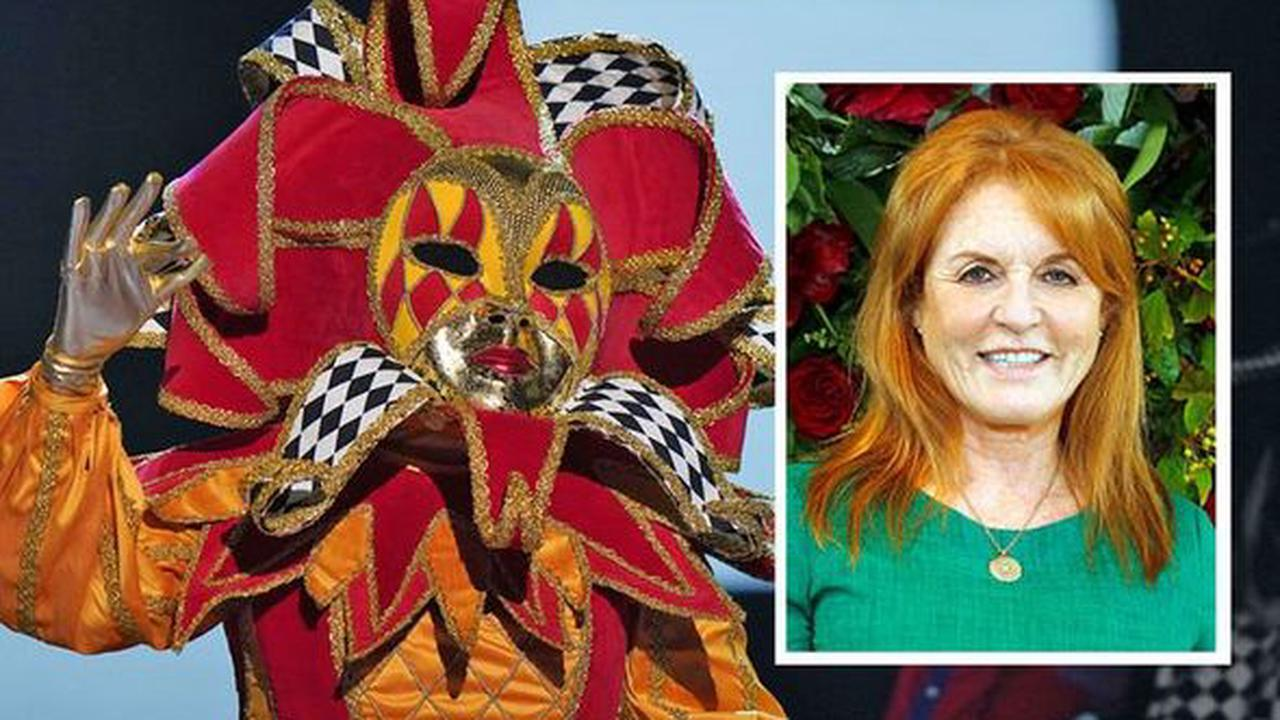 The Masked Singer: Harlequin's identity 'rumbled' as royal family member Fergie