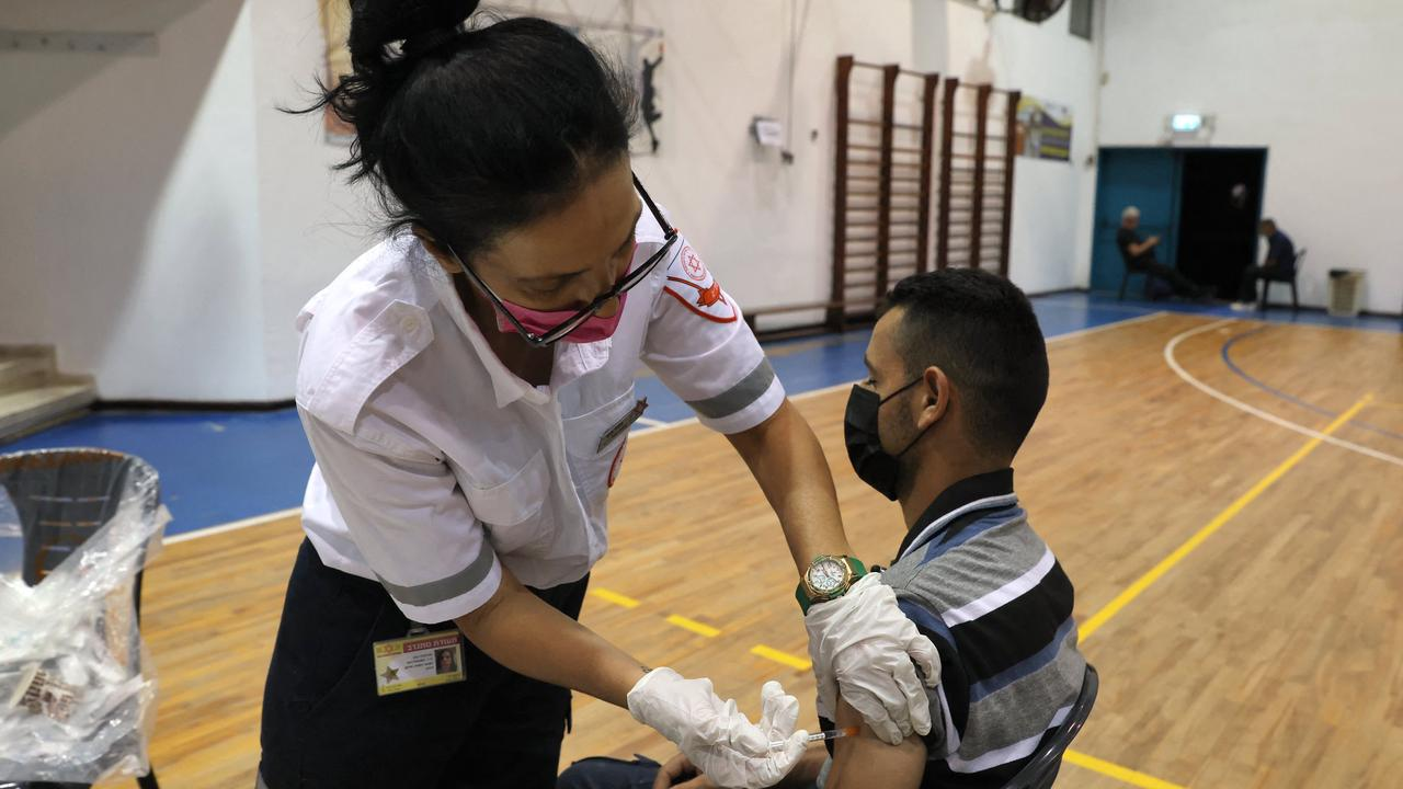 People in Israel and Bahrain are losing their vaccination status for not taking boosters