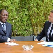Rencontre à l'Elysée : voici de quoi discuteront Macron et Ouattara (services français)