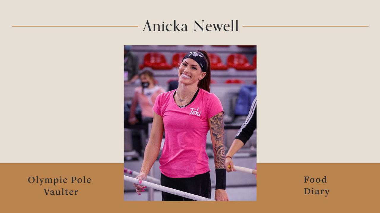 Here's What Olympic Pole Vaulter Anicka Newell Eats To Fuel Her Training For the Summer Games