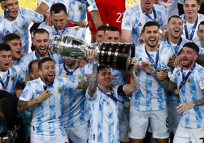 Argentina win Copa America 2021