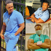 See Handsome Medical Doctor that left twitter in stitches with his cuteness looks.