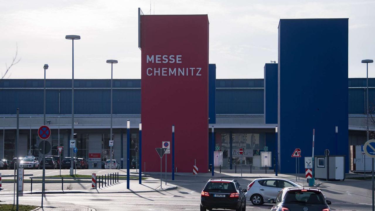 Nach einem Jahr Corona-Pause wieder Messe in Chemnitz