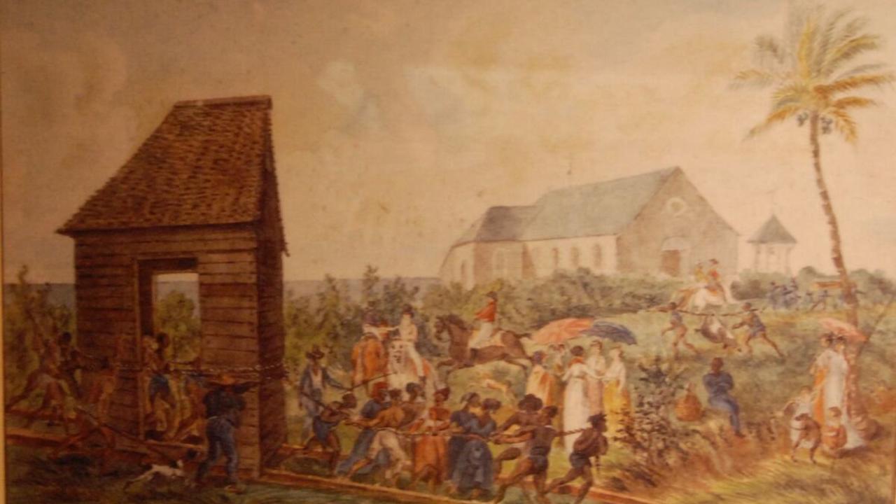 """St-Denis inaugure son """"école marron"""" : 32 conférences sur le thème de l'esclavage"""
