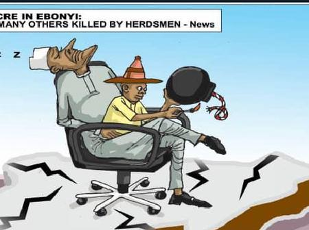 See The Cartoons Shared By A Nigerian Newspaper Which Stirred Reactions Online (details)