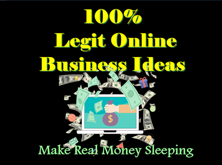 100% legit online business ideas you can start with very little or no budget