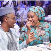 Marriage Goals, Aisha Ummi with El- Rufai having romantic moments [Photos]