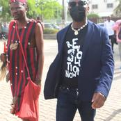 See More Photos Of The Juju Man That Followed Sowore To Court.