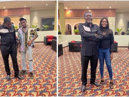 Checkout Photos Kanayo Shared As He Celebrates His Kids' Birthday