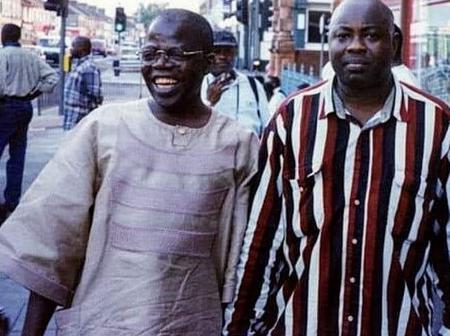 After Momodu Shared Picture Of TINUBU While He Was On Exile In 1996, See What Nigerians Are Saying