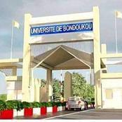 Voici la représentation de l'université de Bondoukou qui est en cours de réalisation