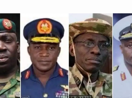 Check Out The Profile Of Current Service Chiefs