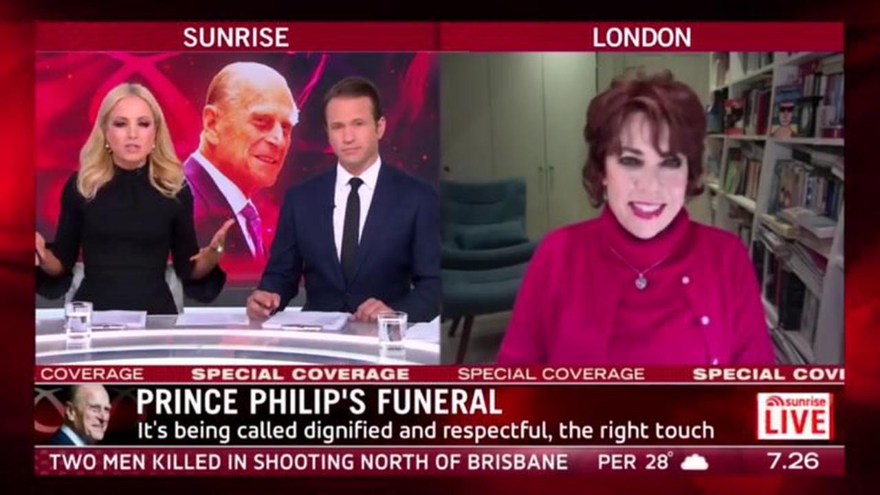 Queen Elizabeth's 'heartbreakingly devastating' body language at Prince Philip's funeral