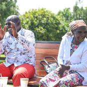The Funniest Moment Of DP Ruto With Granny Njambi At His Karen Home