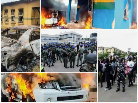 A Chronicle of Attacks on Policemen in the South-East
