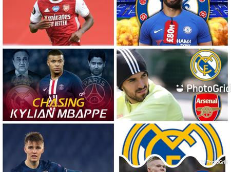 Transfer News : Odegaard to Arsenal, update on Aguero, Kylian Mbappe, Haaland, Maitland-Niles.