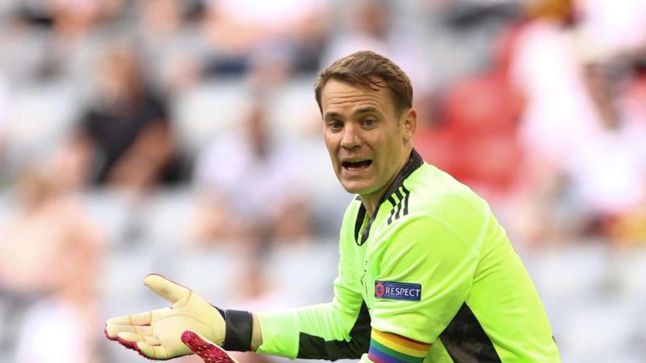 DFB bestätigt: UEFA prüft Neuers Regenbogen-Kapitänsbinde