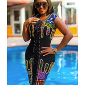 Ladies Should Check These Ankara Short Gown Styles They Can Sew With 3 Yards