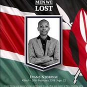 Continue Resting In Peace! Meru University Commemorates Their Leader Who Was Shot Dead By Police