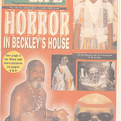 He Lures and sacrifices school children to his gods, do you remember doctor beckley