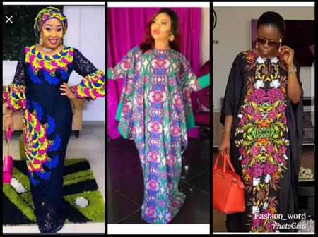 Dear Mumies, Slaying In Any Of These Multicolored Gowns Will Make You Stand Out In Any Events