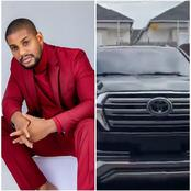 Babarex, IK Ogbonna And Others React As Alex Ekubo Acquires A Toyota Land Cruiser(Photos)