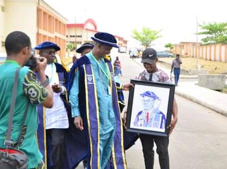 A Student Known As Teepsey Balogun, Sketches The VC Of Federal University Lokoja.