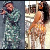 She Is A Soldier But Slay Like Celebrity, See Photos Of This Lady Causing Stairs On Social Media