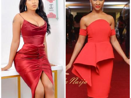 Which Of These Celebrities Do You Think Looks More Adorable In A Red Dress?